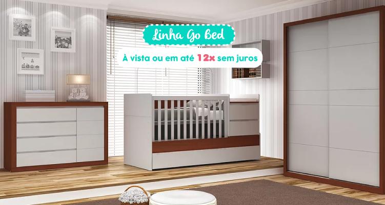 Quarto Completo Linha Go Bed