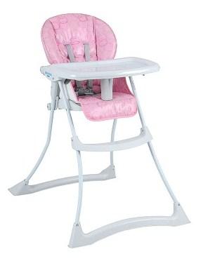 Cadeira de Refeição Papa&Soneca Rosa