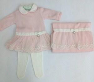 Kit Maternidade Vestido Saia Rendada