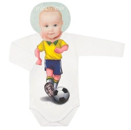 Body Longo  Malha Futebol
