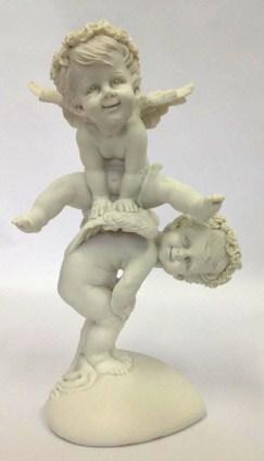 M 1 Escultura Anjo Dupla Cerca