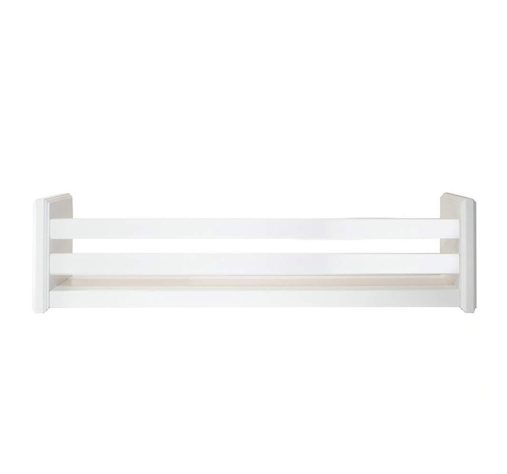 Prateleira Organizadora 70 cm em Branco Fosco