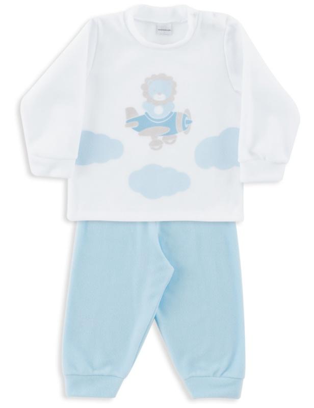 Pijama Microsoft Azul Bebê
