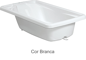 Banheira Rígida Avulsa Burigotto Branco