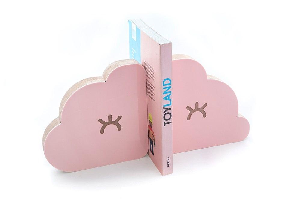 Aparador de Livros Nuvem Rosa