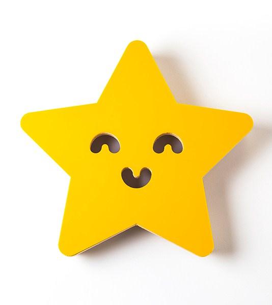 Luminária de Parede Estrela