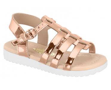 Sapato Casual Bebe Ouro