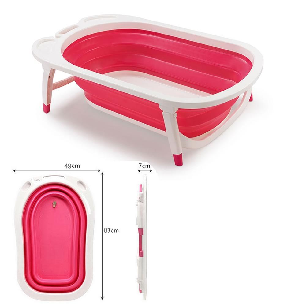 Banheira Dobrável Flexível  Bath Menina