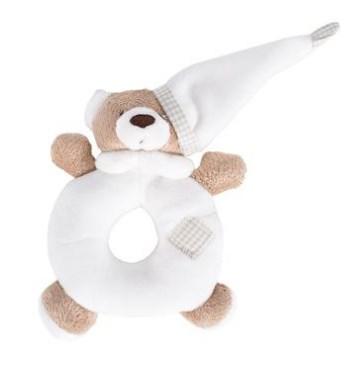Chocalho Urso Nino Branco