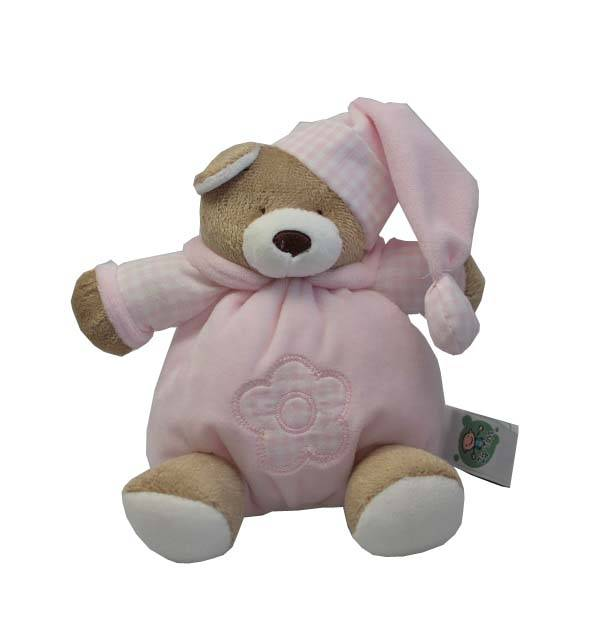 Urso Nino Rosa Bebê