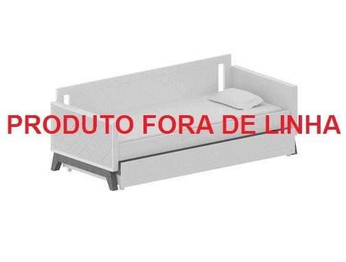 Cama Sofá Retrô Madeira Jequitibá