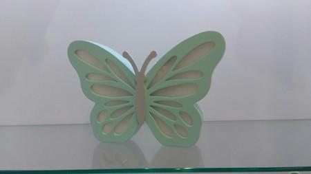 Luminária de mesa borboleta