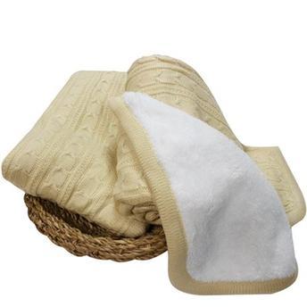 cobertor 0,70x1,0 Dona dio cherpa kaki