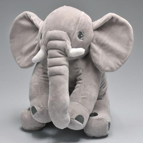 Elefantinho cinza 30cm