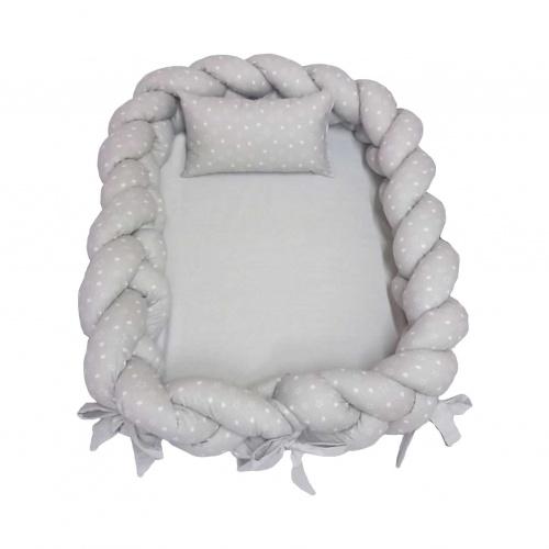 Ninho trança com travesseiro