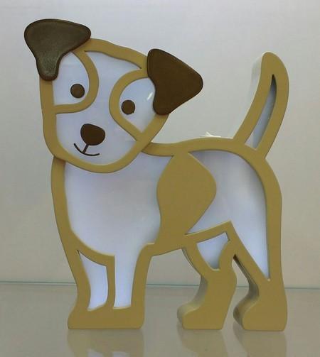 Luminária de mesa cachorro