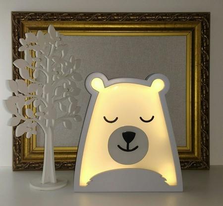Luminaria urso polar