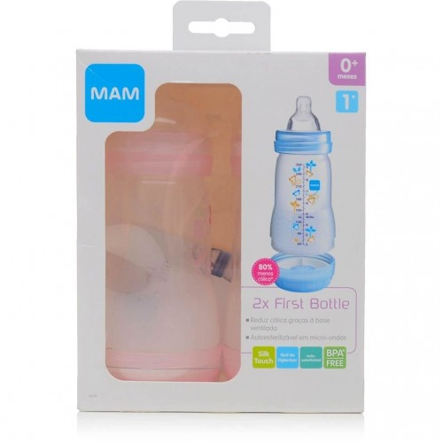 Mamadeira First Bottle Girl 260ml Conjunto