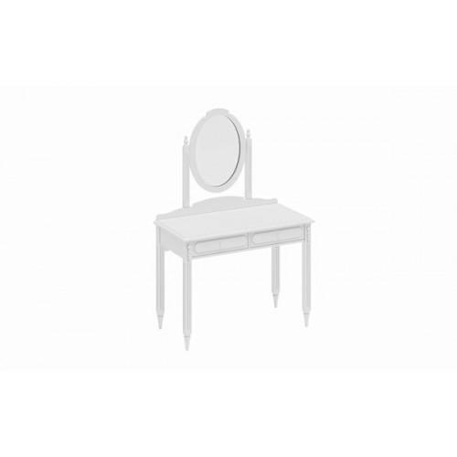 Penteadeira com Espelho Lis Branco
